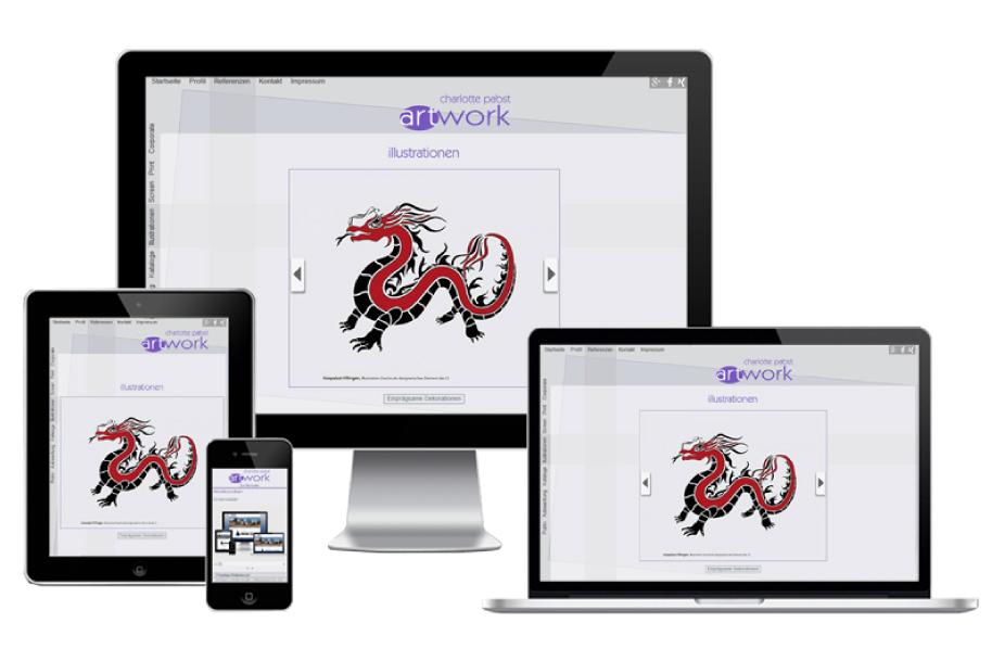 Flexible-Webseite-corporate-design-graphics
