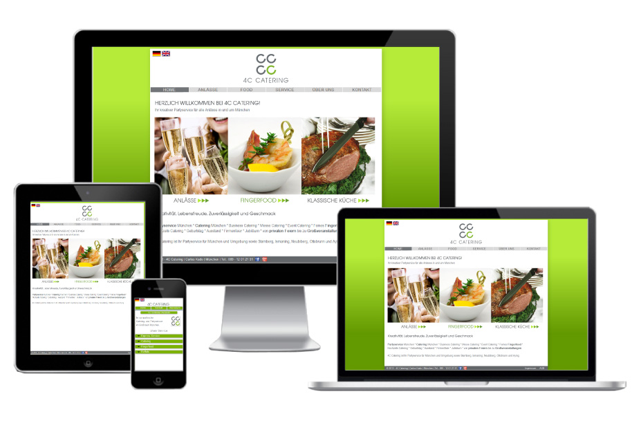 Fluid-Webdesign-4C-Catering